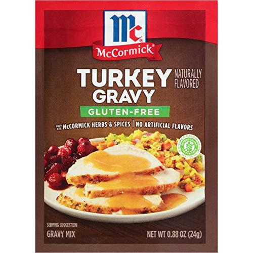 McCormick Gluten Free Turkey Gravy Mix, 0.88 Oz, Pack of 12