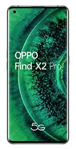 "OPPO Find X2 PRO 5G – Smartphone de 6.7"" (OLED, 12GB/512GB, Octa-core, cámara trasera 48MP+48MP+13MP, cámara frontal 32MP, 4.260 mAh, Android 10, Snapdragon 865) Green [Modelo exclusivo Amazon]"