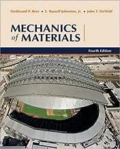 By Ferdinand Beer, Jr.,E. Russell Johnston, John DeWolf: Mechanics of Materials Fourth (4th) Edition