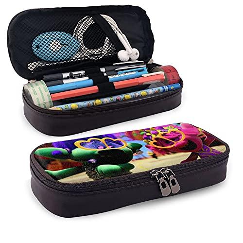 T-Ro-Ll-S Estuche organizador de papelería multifunción bolsa de maquillaje cosmético soporte perfecto para estudiantes lápices y bolígrafos