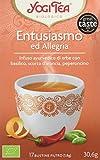 Yogi Tea Entusiasmo ed Allegria - 17 Bustine Filtro [30.6 gr]