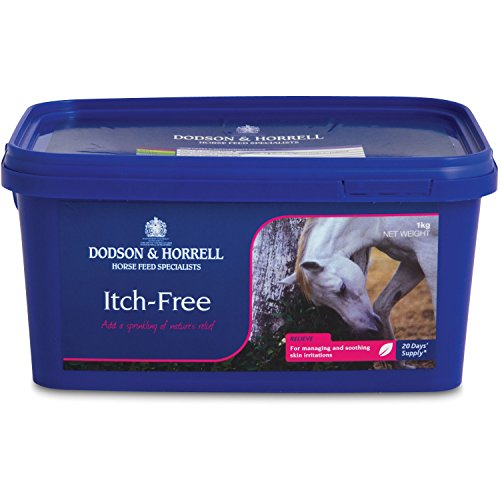 Dodson and Horrell Itch Free for Horses Skin Supplement 1kg Refill Clear