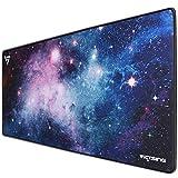 VicTsing Alfombrillas de Ratón, Alfombra Ratón para Gaming y Oficina XXL (800 X 400 X 2.5 mm) para PC Laptop iMac MacBook Microsof