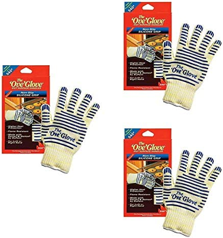Ove Glove Heat Resistant Hot Surface Handler Oven Mitt Grilling Glove Perfect for Kitchen Grilling product image