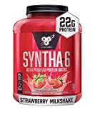 BSN SYNTHA-6 Protein Powder - Strawberry Milkshake, 5.0 lb (48 Servings)
