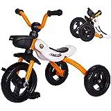 Triciclo Plegable 2 en 1, Triciclo para Niños Bicicleta del
