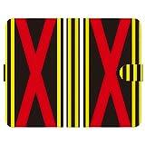 ブレインズ LG style3 L-41A 手帳型 ケース カバー 勝負服 01 サラブレッド グッズ 馬 競馬 競走馬