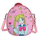 Kerr's Choice Girl Women Crossbody Bag Japan A-nime Backpack Crossbody Purse Pink Cute Crossbody Bag