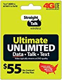 Straight Talk $55 Ultimate Unlimited Card (Mail Delivery)
