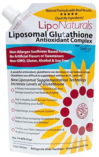 Lipo Naturals Liposomal Glutathione Antioxidant Complex