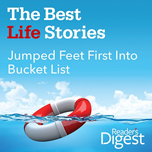 Jumped Feet First into Bucket List audiobook cover art