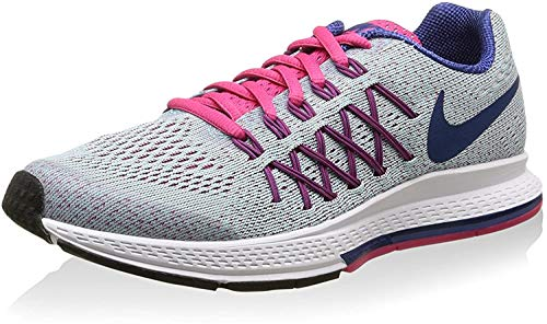Nike Nike Unisex-Kinder Zoom Pegasus 32 (Gs) Krabbelschuhe, grau/pink, 38 EU