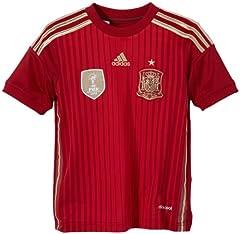 Adidas Camiseta  1ª Equipación Española 2014 niño  rojo