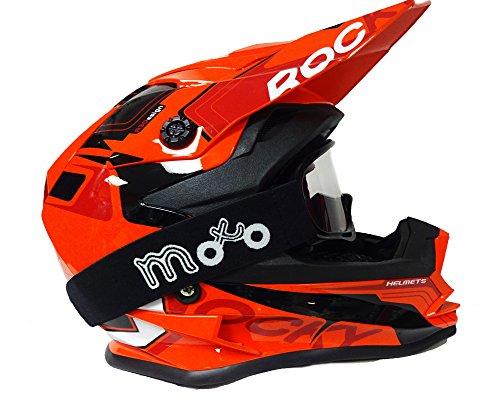 3GO-E335 CASCO INTEGRALE MOTO SCOOTER ECE OMOLOGATO MOTORINO CASCHI DONNA UOMO CON DOPPIA VISIERA PARASOLE BORGOGNA 57-58 CM M
