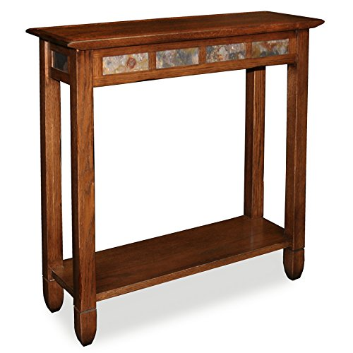 oak console tables for entryway - 4