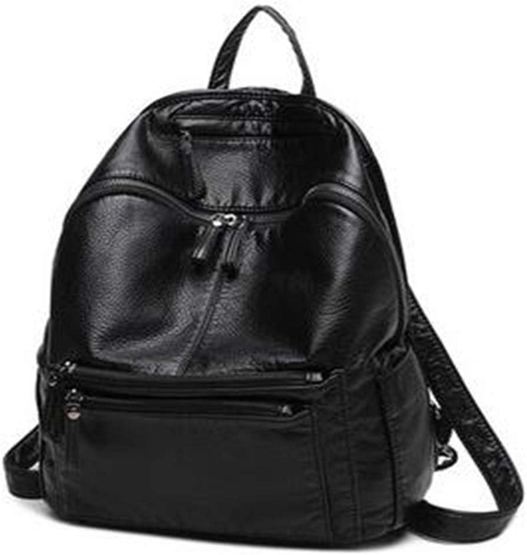 EWULIN Joker Tasche Rucksack Mode Oxford Tuch aus weichem Leder Leder Leder Damen Reisetasche B07Q9JX2SH  Sehr gute Farbe b28511