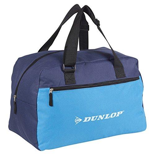 Dunlop Sports Gym Duffel Bag Lightweight Travel - Blue