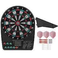 電子ダーツボードゲーム、高性能耐久性自動スコアリングダーツボード、家庭用屋外用((Electronic target))