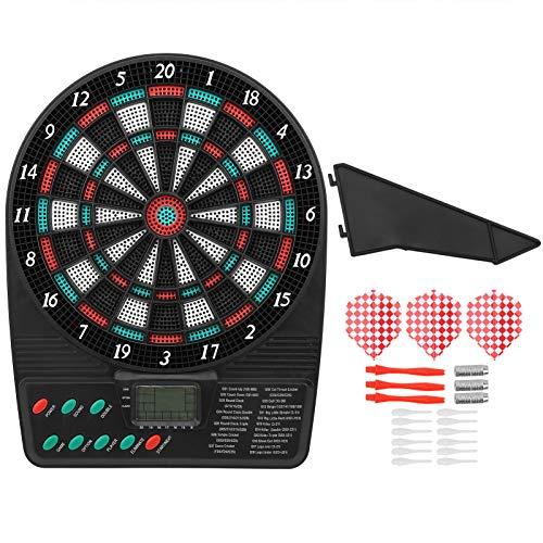 KUIDAMOS Automatische Dartscheibe Elektronische Dartscheibe mit LCD-Cricket-Displays, Unterhaltungsartikel zur Dekoration Elektronische Dartscheibe Spielset((Electronic Target))