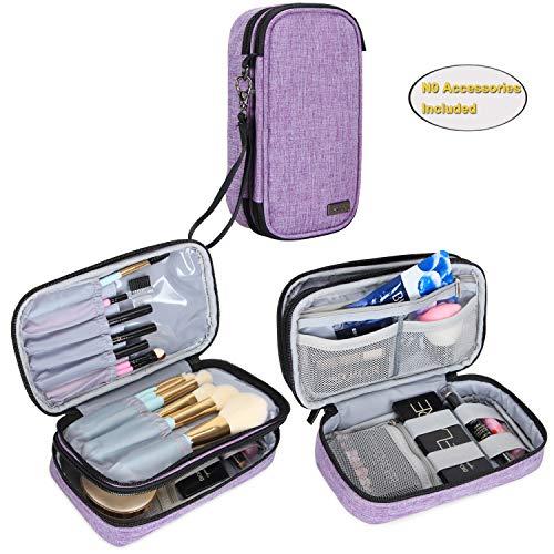 Teamoy Travel Makeup Brush Bag(up to 8.5