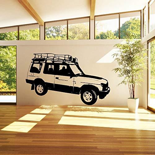Zhuzhuwen plank muur stickers, Land Rover Ontdek Drive Voertuig Auto Curving Auto, Vinyl kinderkamer muurbehang