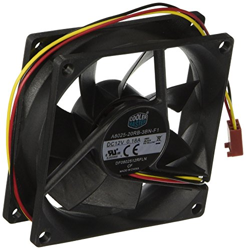 Our #7 Pick is the Cooler Master Rifle Bearing Cooling Fan for PC
