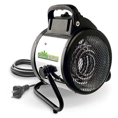 Bio Green Electric Fan Heater for Greenhouses & Garages - Palma Basic 1500 W, Incl. Frostthermostat