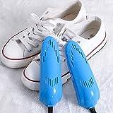 LAIDEPA Secador De Zapatos Desodorizante, Secador Desecante De Zapatos, Secador De Zapatos, Calentador De Zapatos para Bebés, Adecuado para Zapatos Y Guantes, Zapatos De Cuero,Azul,16 * 5cm