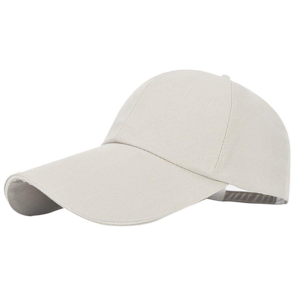 XGao Baseball Hats for Women Fashion Unisex Men Women Baseball Caps Fashion Women Adjustable Baseball Hat Letter Solid Hip-Hop Mesh Cap Shade 2 Navy