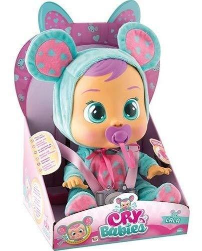 Boneca Cry Babies Br057 Lala Chora Sons Lágrimas De Verdade