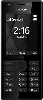 Nokia 216 Telefono Cellulare, Memoria Interna da 16 MB, Nero