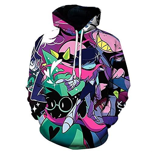 2021 Hombres y Mujeres con Capucha de la Sudadera con Capucha de la Sudadera con Capucha de Cosplake Hatake Kakashi 3D con Capucha Kakashi Suéter de cordón 2021 New Unisex Lightweight Kangaroo Pocket