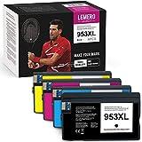 Lemero UEXPECT - Cartucce compatibili con HP 953 XL 953XL per cartucce HP Officejet Pro 8710 8715 8720 8730 8740 7740 7720 8210 8718 8719 8725 8218 (4 confezioni multipack multipack