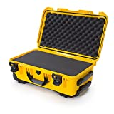 Nanuk 935 Waterproof Carry-On Hard Case with Wheels and Foam Insert - Yellow