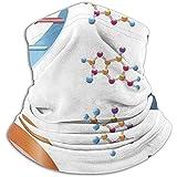 Fanqi DNBases Química Bioquímica Biotecnología Ciencia Símbolo en espiral Calentador de cuello genético A prueba de viento Polaina Mascarilla Scarferes