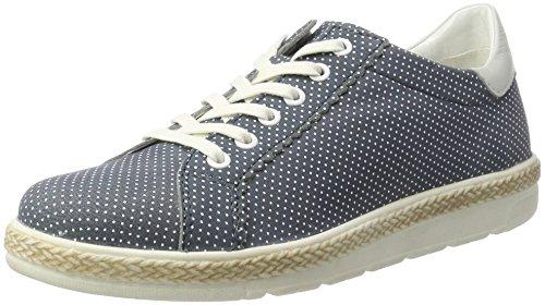 bugatti Damen J97011L Sneaker, Blau (Jeans 455), 38 EU
