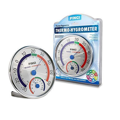 Pingi Wand Thermo-/Hygrometer