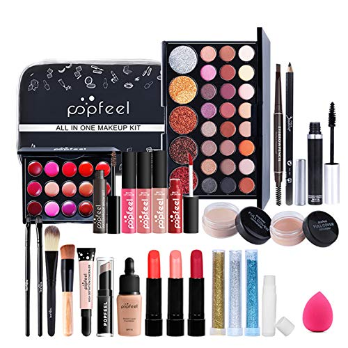 Kit Maquillaje Profesional Completo Mujer Marca JasCherry