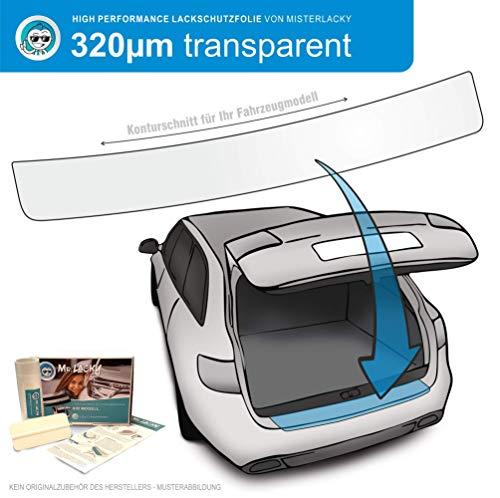 MisterLacky – Lackschutzfolie mit Rakel als Ladekantenschutz Folie passend für Hyundai Santa Fe Grand (III) Typ DM,ab BJ 2013-2016 in transparent (320µm)