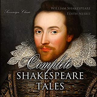 Complete Shakespeare Tales audiobook cover art