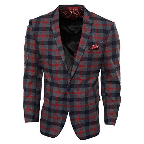 Elie Balleh Milano Italy Men's Slim Fit Jacket/Blazer