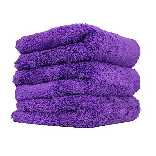 Chemical Guys Happy Ending Ultra Plush Edgeless Microfiber Towel, Purple