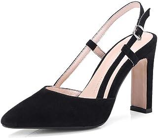 1034475eeb5 VIVIOO Zapatos de Mujer Zapatos de Mujer Zapatos de Boda de Gamuza del Dedo  del pie
