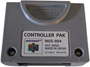Nintendo 64 N64 Controller Memory Pack Card Pak Original (Renewed)