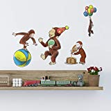RoomMates Curious George Storybook Peel And Stick Wall Decals