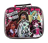 Monster High 5 Character Soft Lunch Tote