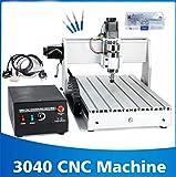 WANGYONGQI 800 watt / 1,5 kw 3-achsen / 4-achsen 3040 CNC Router Graveur T-Schraube Schneiden Fräsen Bohren Graviermaschine CNC,300Wairspindle,3axis