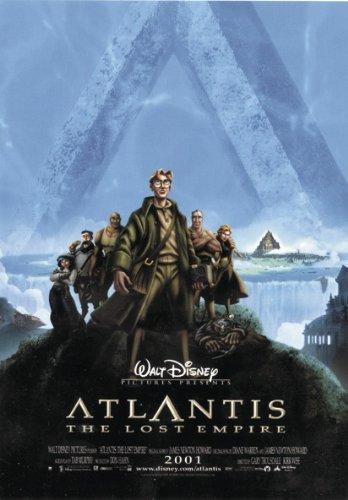 Poster atlantide l'empire perdu (68,5cm x 98cm) + un poster surprise en cadeau!
