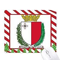 マルタ島ヨーロッパ国家エンブレム ゴムクリスマスキャンディマウスパッド