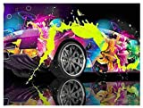 Yingxin34 1500 Pieces Jigsaw Puzzle Painted Car Puzzles Fun Educational Toy for Kids, School & Families. Great Gift for Boys & Girls Ages 6+ to Stimulate Learning of. 87x57cm